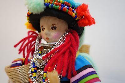 Girl doll Handmade by Lisu Hill tribe Thailand