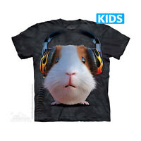 THE MOUNTAIN DJ GUINEA PIG ANIMAL PET MUSIC FOREST ZOO YOUTH KIDS T SHIRT S-XL