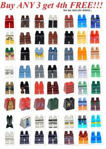 NEW-Lego-PICK-YOUR-LEGS-PANTS-Minifigure-minifig-figure-bulk-Lot-Parts-Bottoms