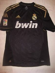 53507b157 Official Adidas Authentic Real Madrid 2014-2015 Third 3rd DRAGON real  madrid black kit