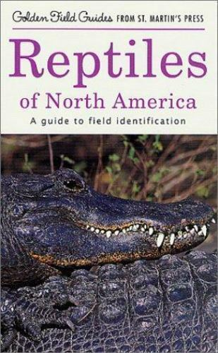 Reptiles of North America: A Guide to Field Identification (Golden-ExLibrary