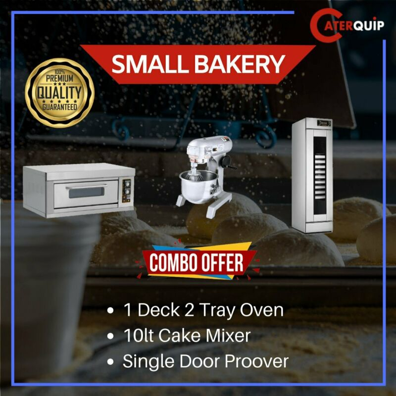 INDUSTRIAL BAKERY EQUIPMENT - PROOVERS - OVENS - WARMERS - CAKE MIXERS - BREAD SLICERS ETC