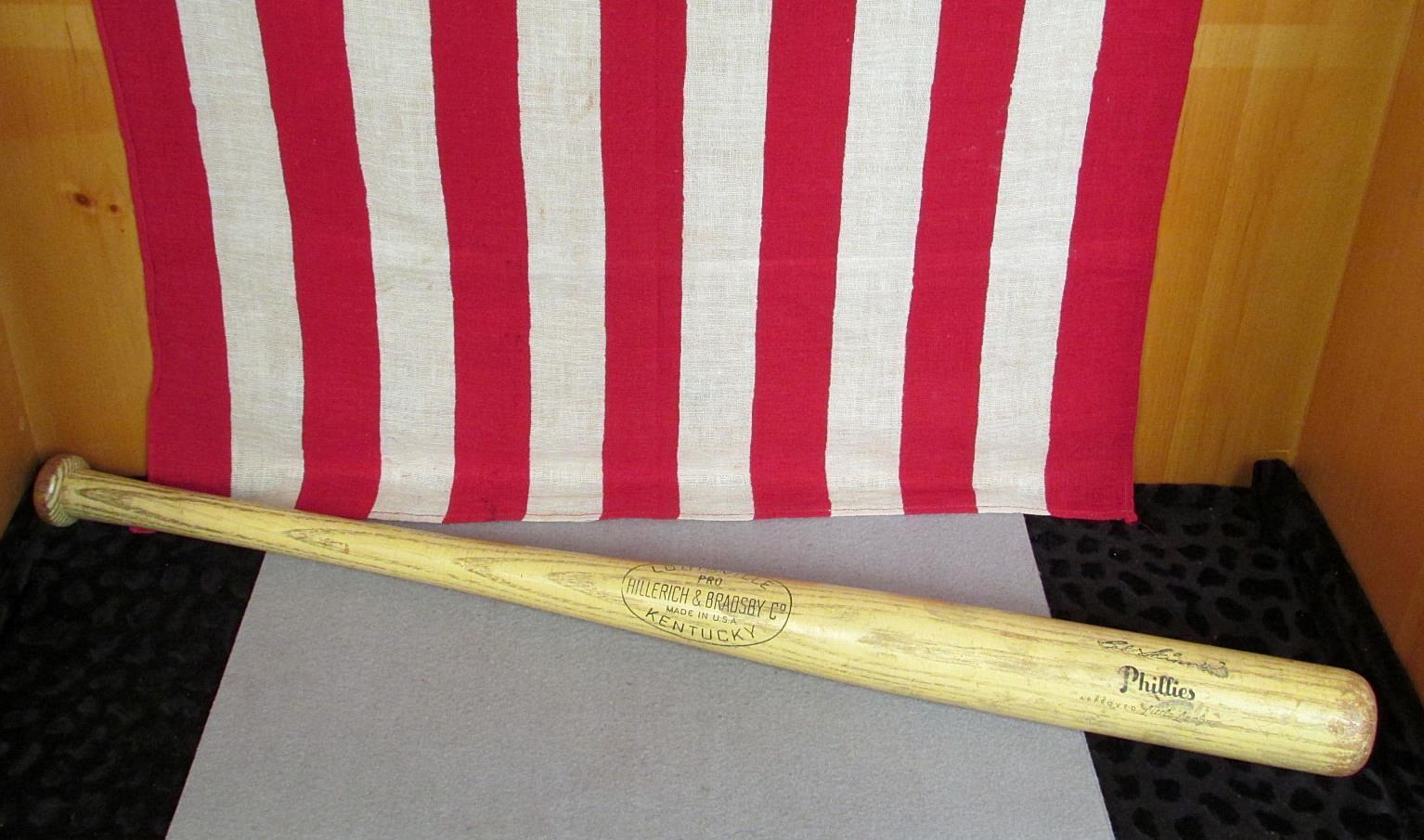 Vintage Bradsby Hillerich & Bradsby Vintage Holz Baseballschläger pro Bob Skinner Phillies 30