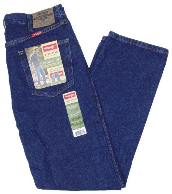 a3df13f3 Wrangler Five Star Jeans 36 X 32 Men's Mens Regular Fit for sale ...