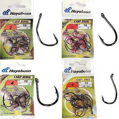 Karpfenhaken aus Japan Hayabusa K-1 Carp Hook