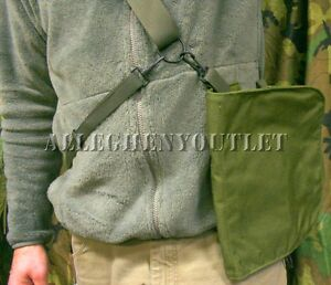 USGI Military Gas Mask Carrier Bag / Case MCU-2/P M-42 Great Messenger Bag NEW