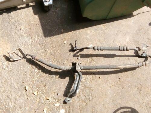 JAGUAR X TYPE 01 a 2010 2.5 V6 Benzina Servosterzo Tubo pompa a rack