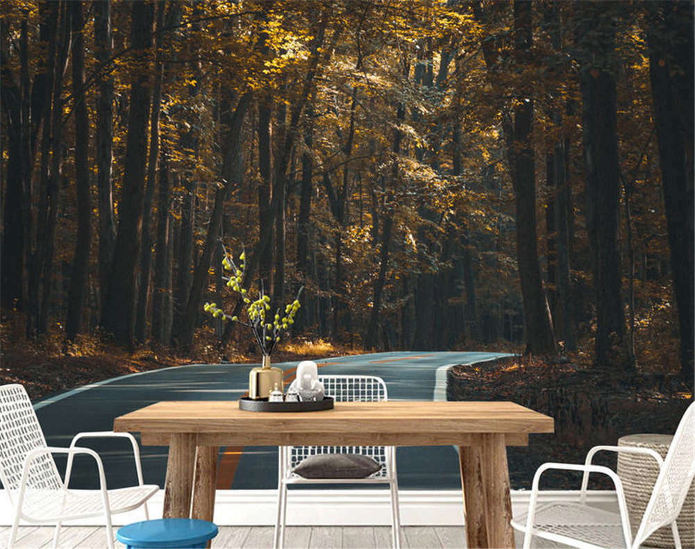 Idle Dense Woods 3D Full Wall Mural Photo Wallpaper Printing Home Kids Decor