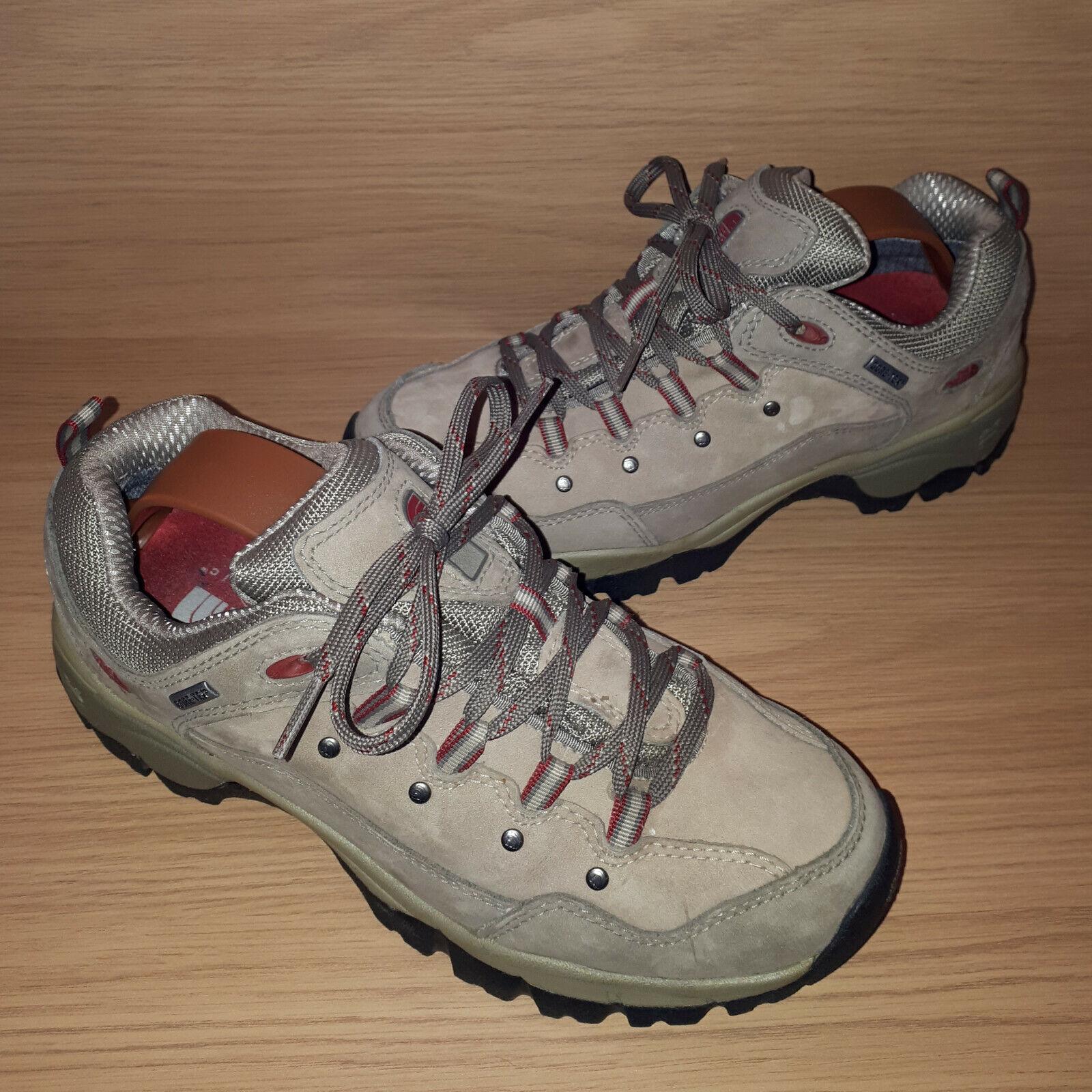 The North Face Goretex Senderismo Zapatos Nubuck Gamuza señoras nos 8.5 tan