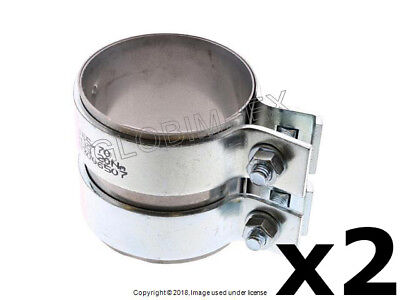 """Pypes Performance Exhaust HVC65 Exhaust Clamp Supports 2 Butt Pipes 2.5/"""""""
