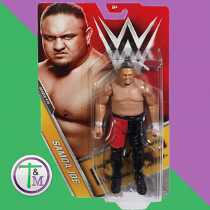 WWE Samoa JOE IL CACCIATORPEDINIERE MATTEL Basic Serie 74 Wrestling Azione Figura TNA