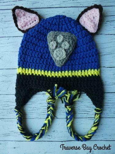 Paw Patrol crochet 7 pc lot Chase Marshall Skye Zuma Everest PATTERN ONLY