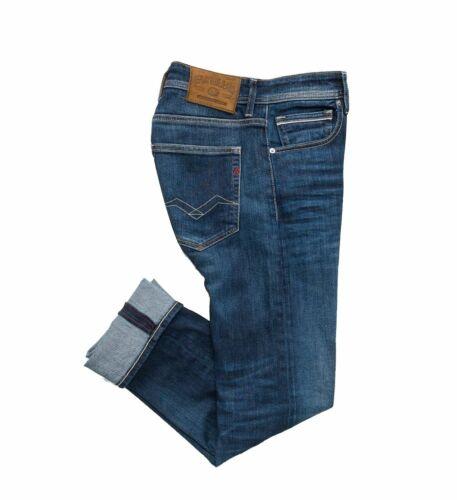 Replay Grover MA972 000.101.330.007 Straight Jeans Indigo Stretch