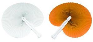 50-Ventagli-25-bianchi-25-arancioni-bomboniera-per-matrimoni-comunioni-feste