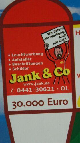 Das Oldenburg Spiel Monopoly Hipp  EWE NWZ Jank CDU Brettspiel M-1624