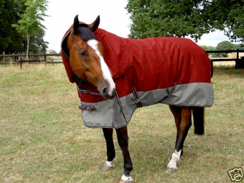 GEE TAC 420G1600DTURNOUT ULTIMATE COMBO HORSE RUG 4.9  or 4.6