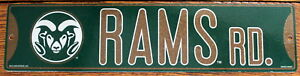 Street-Sign-Rams-Rd-NCAA-Lic-colorful-picture-Colorado-State-University