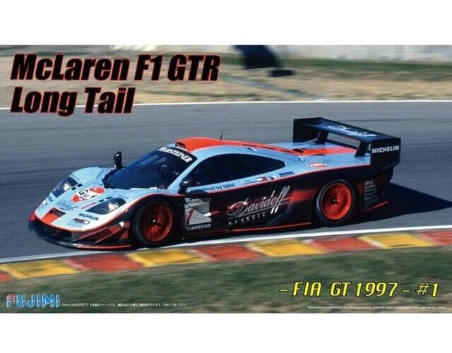 Fujimi 125954 McLaren F1 GTR Largo Cola FIA GT 1997  1 1 24 modelismo