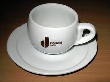 Danesi Caffe Advertising Coffee Cappuccino Espresso Cup & Saucer 6 oz