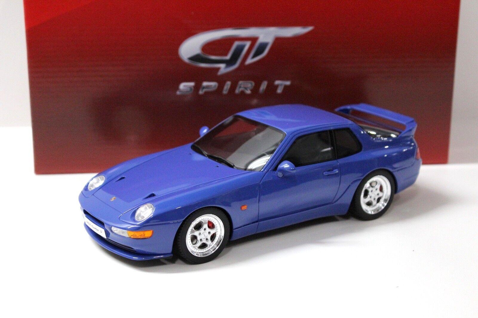 1 18 GT GT GT Spirit Porsche 968 Turbo S Coupe 1993 bluee NEW bei PREMIUM-MODELCARS 9065a4