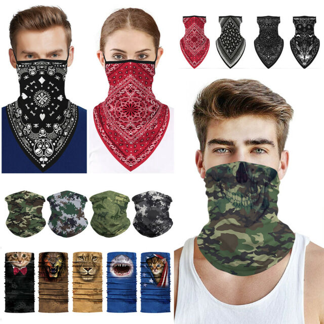 Head Wrap Scarf Neck Gaiters for Multi Functional Face Scarf Unisex Patriotic