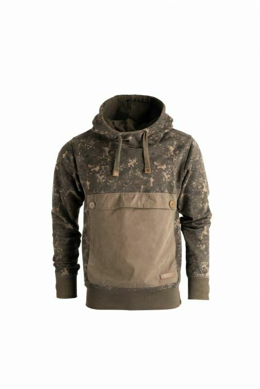 Nash ZT Subterranean Camo Hoody   Carp Fishing Clothing