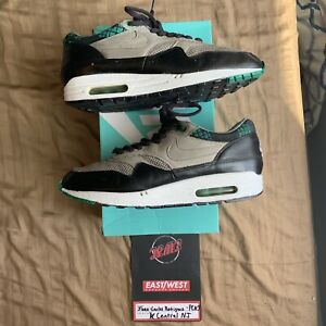 Details about Nike Air Max 1 Premium LCD Pack Charcoal Green Size 8.5 309717 003 2007