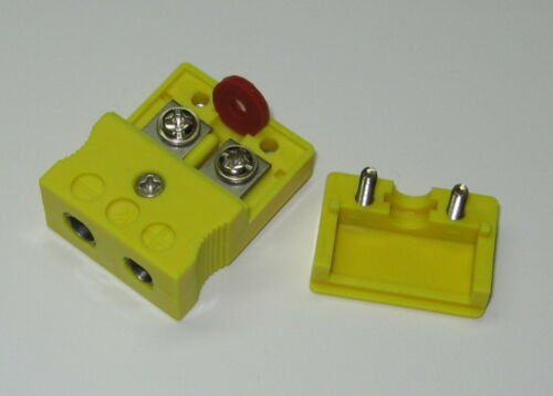 Standard K-Type Connector Set Pair Male /& Female f thermocouple extension wire