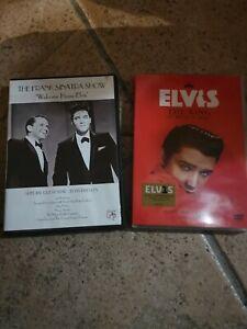 Lot-dvd-Elvis-presley-the-frank-Sinatra-show-Elvis-the-king