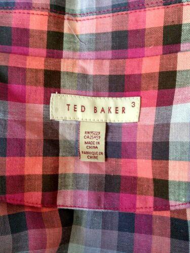 nouvelle taille marque Designer Sonata décontractée chemise Robe Baker 12 Ted mancherons xSanSqZB