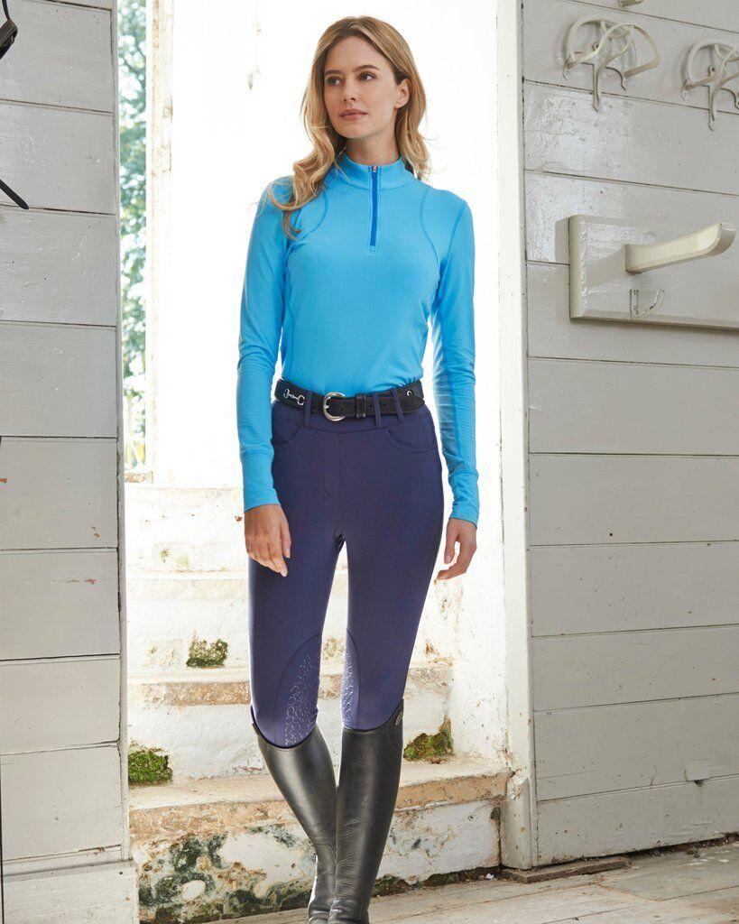 nuevo  noble Outfitters balance 5 Bolsillo de montar a caballo Mallas En Azul Marino XS-XL