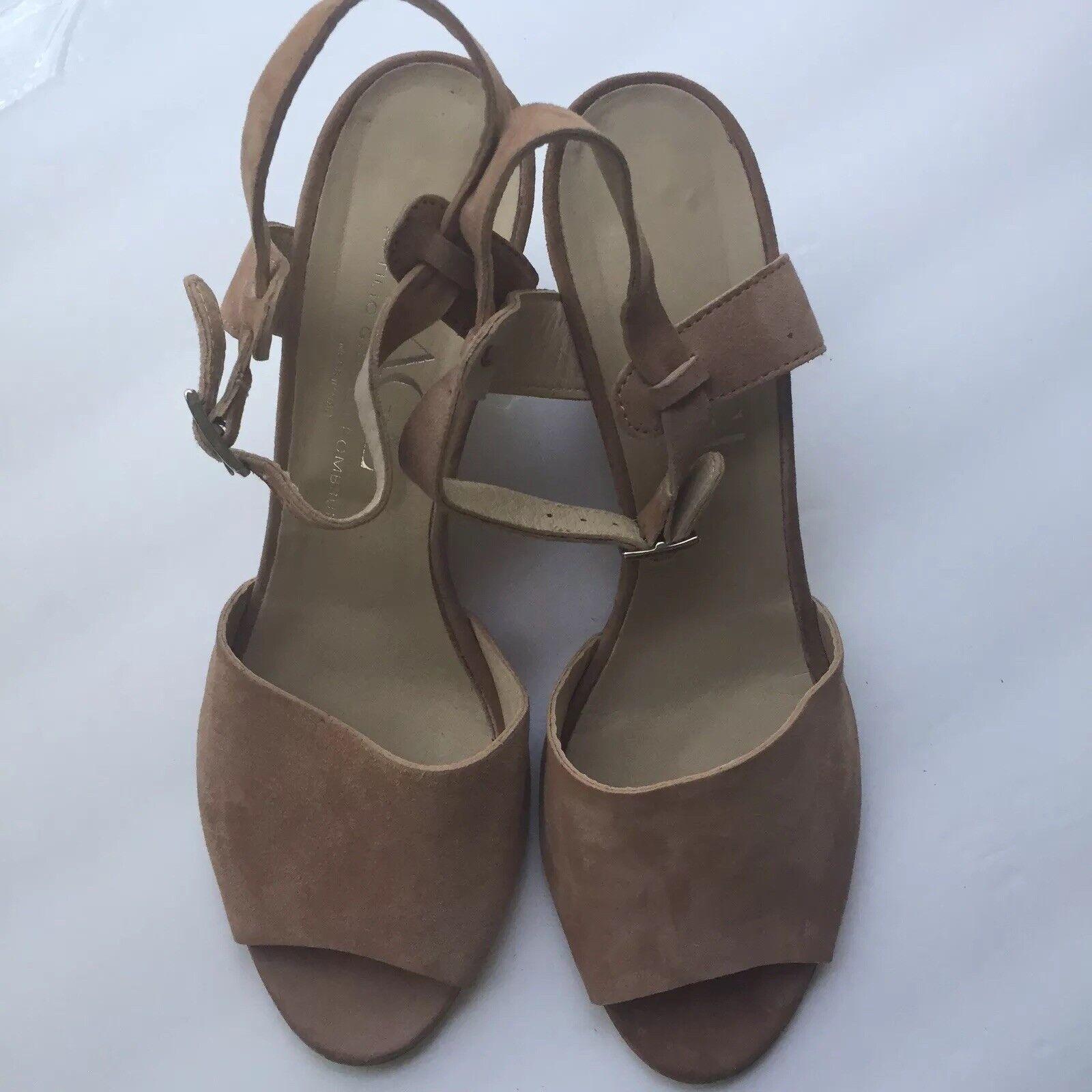 Made in  AGL Alyssa Wedge Sandal Women's Sz 40EU  10US