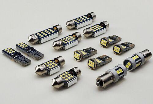 Ajuste Volvo XC60 Bombillas LED Luz Interior Kit de reemplazo para 13 un Blanco 6000K