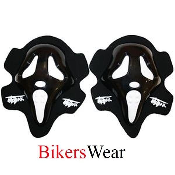 MOTRAX ROK SCREAM Knee Sliders  Black SALE!!!!!!!!!!!!((((((PAIR)))))))