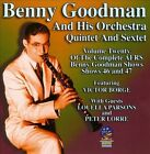 AFRS Benny Goodman Show, Vol. 20 * by Benny Goodman (CD, Jan-2014, Sounds of Yesteryear)