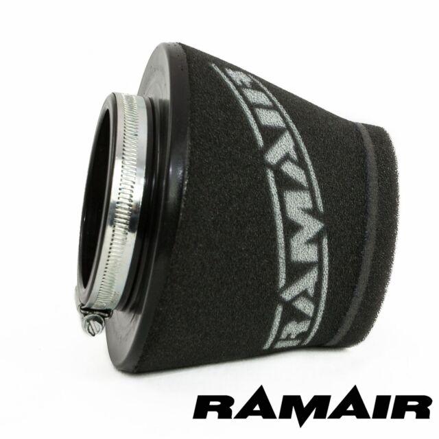 Ramair Inducción Espuma filtre de aire en cono universal Corto 80mm