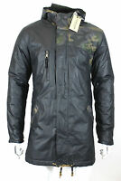 Anerkjendt - Dark Olive Camo Parka - Size M With Tags Rrp £130