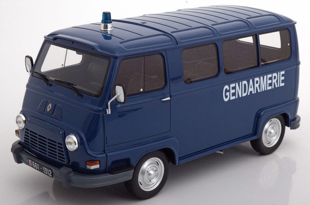 OTTO MOBILE RENAULT ESTAFETTE GENDARMERIE Bleu Édition Limitée Échelle 2000 1 18 NOUVELLE VERSION