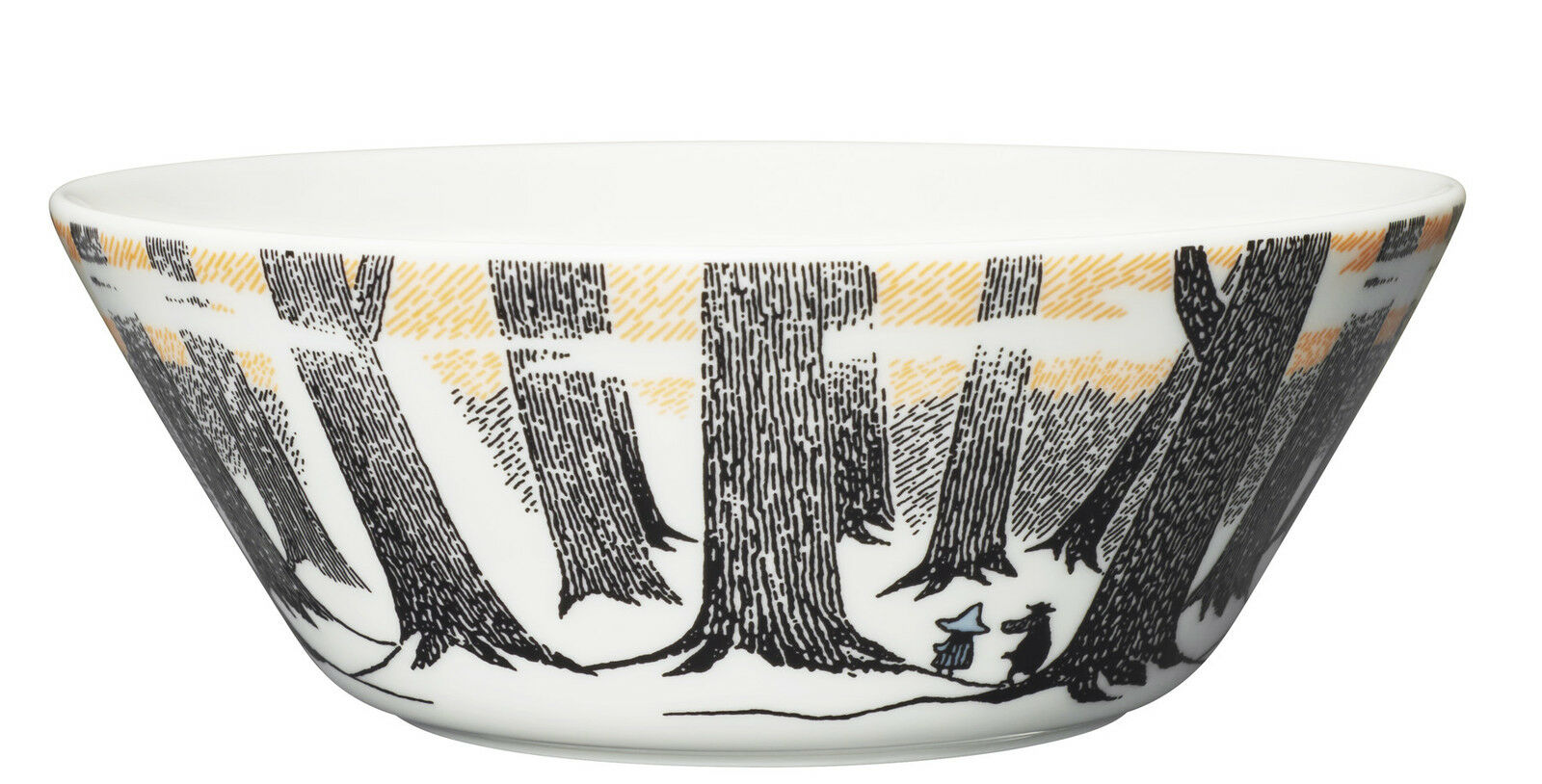 Moomin Bowl True to Its Origins 15 cm Arabia