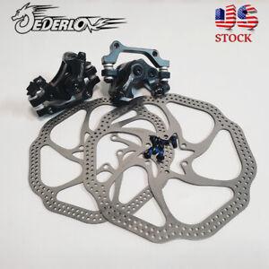 MTB Bike Mechanical Disc Brakes 160//180mm Bike Rotor Disc Brake Rotor 6 Bolts