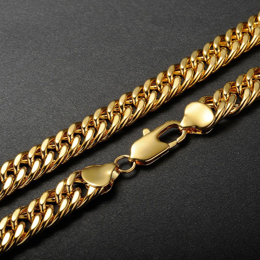 Venezianerkette 2 mm 999er Gold 24 Karat vergoldet Damen Herren gelbgold K2876