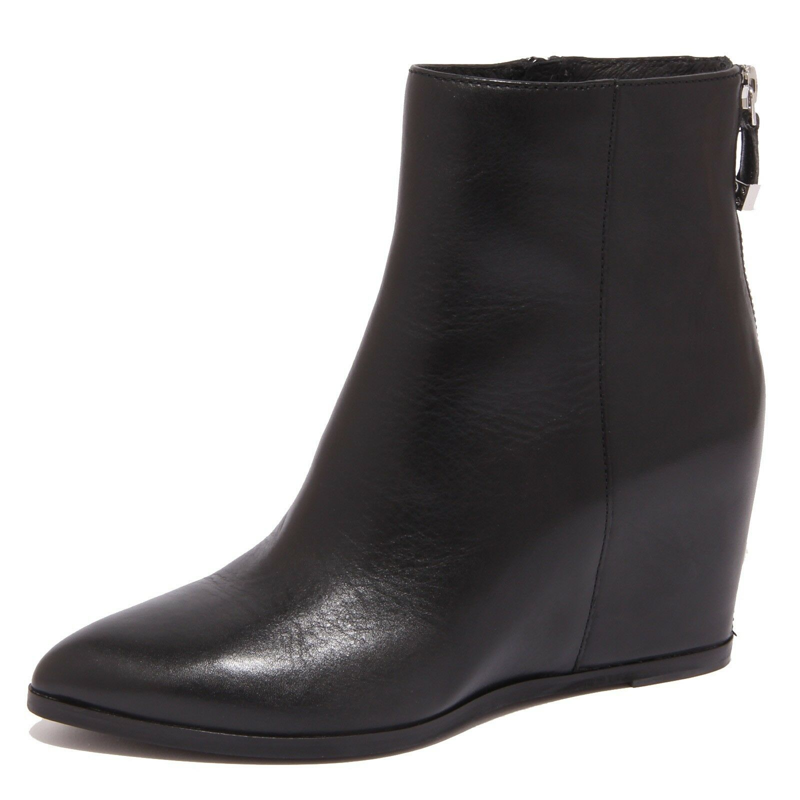 8746p what for black stivaletto tronchetto women boot woman
