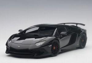 Autoart-74556-1-18-Lamborghini-Aventador-lp750-4-SV-2015-Gloss-Black