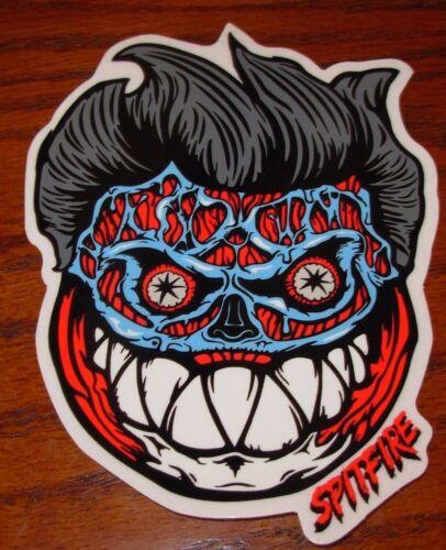 "SPITFIRE FORMALDEHYDE Face Logo Skate Sticker 4 X 5.5/"" skateboards helmets decal"