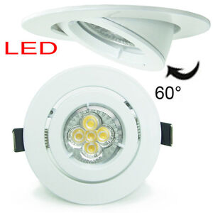 20X 10W 5W LED GU10 Recessed Ceiling Down Spot Light Downlight Kit Dimmable 2