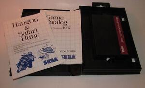 Hang-On-amp-Safari-Hunt-The-Combo-Cartridge-Sega-Master-System-SMS-Complete-CIB