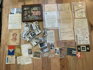 US-Army-WWII-Ephemera-lot-CBI-FIJI-Pacific-Theater-100-Photo-Document-HOSPITAL