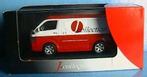TOYOTA-VAN-HIACE-GL-2007-TOLE-JCOLLECTION-JC132-1-43-LIMITED-EDITION-1000-PIECES