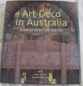 art deco in australia sunrise over the pacific signed ferson