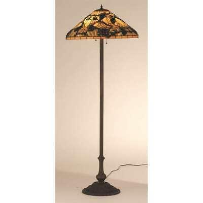 Meyda Lighting 64'H Jeweled Grape Floor Lamp, Beige Ha Purple 55961   eBay